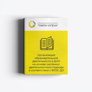 Организация образовательной деятельности в ДОО на основе системно-деятельностного подхода в соответствии с ФГОС ДО